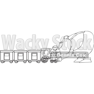 clip art train. Royalty-Free Vector Clip Art