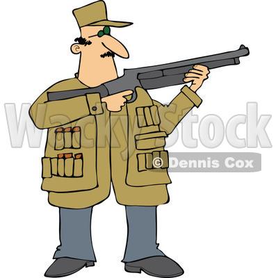 Similiar Hunter Shooting Clip Art Keywords
