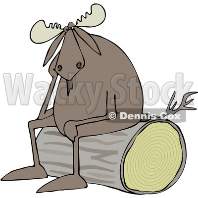 Depressed Clipart by Dennis Cox | Page #1 of Royalty-Free Stock ...