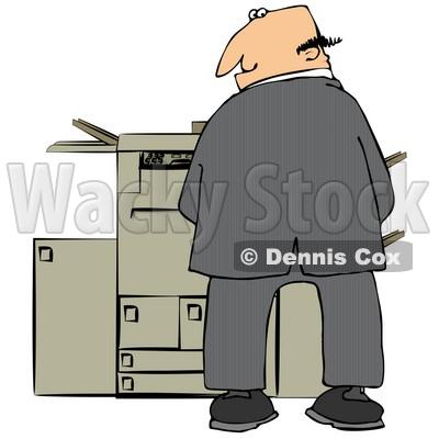 cat copier machine