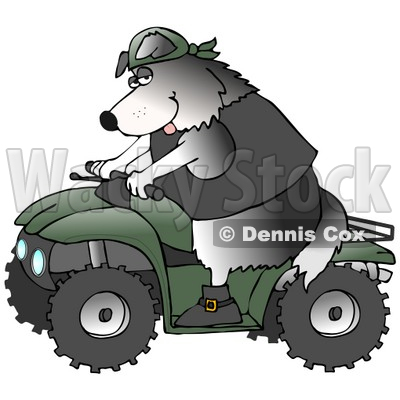 Atv Clipart by Dennis Cox | Page #1 of Royalty-Free Stock ...