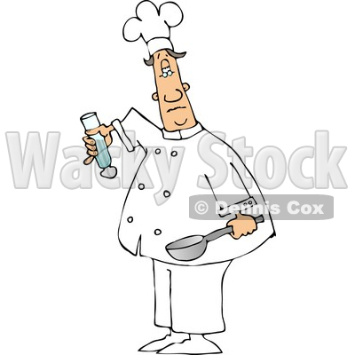 Male Chef Clipart © djart #4303