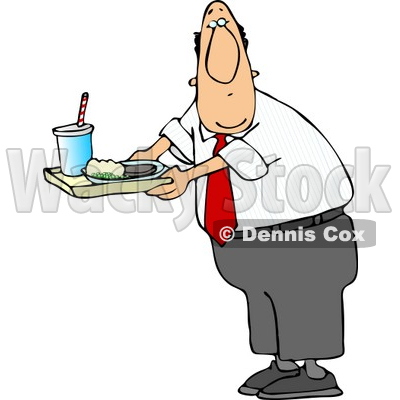 male teacher carrying food on a school lunch tray in a cafeteria rh wackystock com school cafeteria clipart cafeteria lunch clipart
