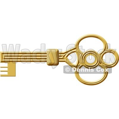 skeleton key clipart