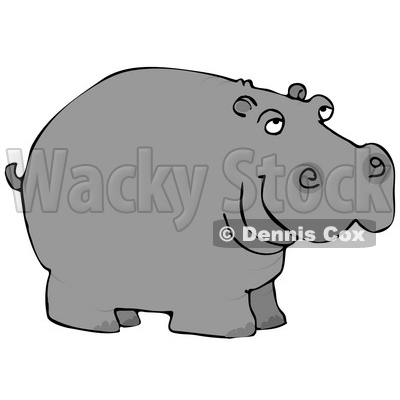Wild Hippo, Water Horse, River Horse Clipart © Dennis Cox #4899