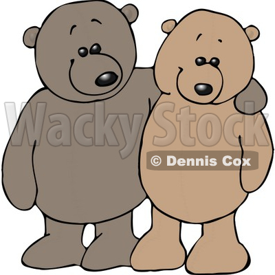 Teddy Bear Pals Clipart © djart #5139