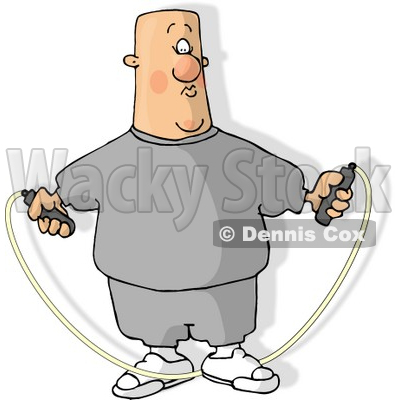 jump rope clip art. Man Jump Roping Clipart