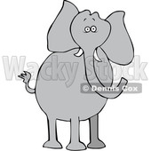 Cartoon Elephant © djart #1633289