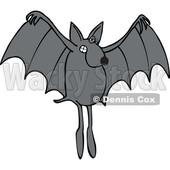 Cartoon Dog Bat © djart #1637314