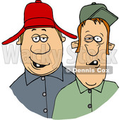 Cartoon Redneck Hillbilly Men © djart #1647091