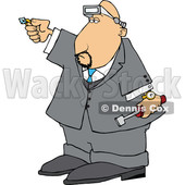 Cartoon Male Jeweler © djart #1698757