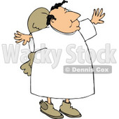 Religious Angel Clipart © Dennis Cox #4127