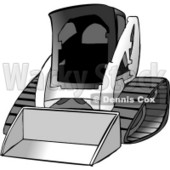 Bobcat Skid Steer Loader Clipart © Dennis Cox #4210