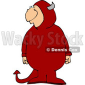 Halloween Devil Clipart © djart #4479