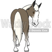 Horse's Rear End Clipart © Dennis Cox #4612