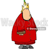 Crowned Royal King of a Nation Clipart © Dennis Cox #4792