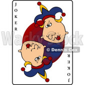 Joker Playing Card Clipart © djart #4810