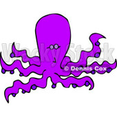 Octopus (also known as the Devilfish) Clipart © Dennis Cox #4881