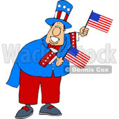 Humorous Uncle Sam Clipart © Dennis Cox #5224