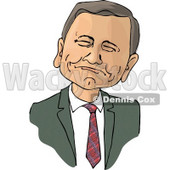 Chief Justice of the United States, John Roberts Clipart Picture © djart #6107
