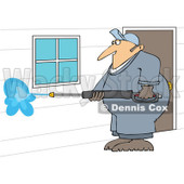 Cartoon of a - Royalty Free Vector Clipart © djart #1170559